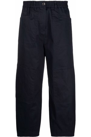 PS Paul Smith Cropped wide-leg trousers