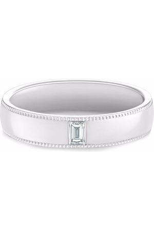De Beers Jewellers DB Classic Wide Court Poinçon diamond ring