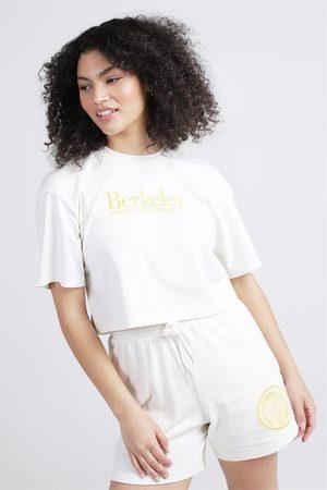 ncaa Women Short Sleeve - Berkeley Logo Crop Tee
