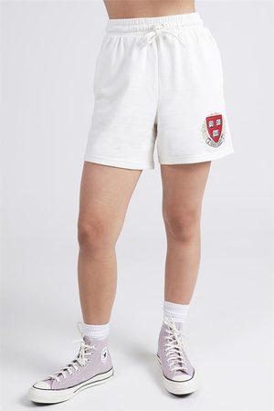 ncaa Women Sweaters - Harvard Logo Sweat Shorts