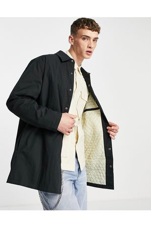 ASOS Quilted lined overshirt in