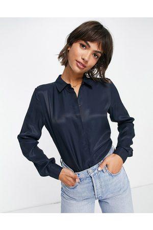 SELECTED Arabella shirt in -Blue