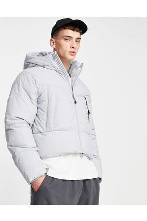 ASOS Puffer jacket with hood in