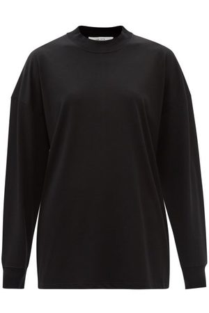 The Row Dolonas Cotton-jersey Long-sleeved T-shirt - Womens