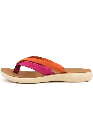 I LOVE BILLY Catlen Il Fuchsia Sandals Womens Shoes Casual Sandals Flat Sandals