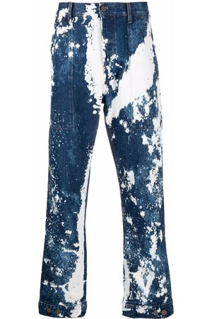 Palm Angels Galaxy dyed loose-fit jeans