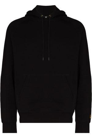 Carhartt Men Hoodies - Chase logo-embroidered hoodie