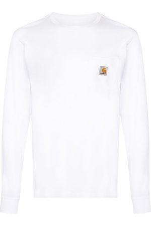 Carhartt WIP Men Long Sleeve - Logo-patch long-sleeve T-shirt
