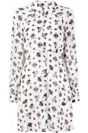 Pinko Floral-print shirt dress