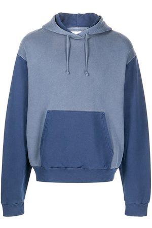 John Elliott 1992 two-tone cotton hoodie