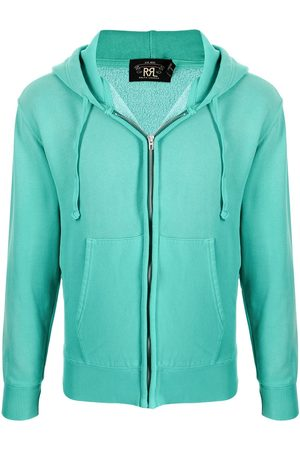 Ralph Lauren Men Hoodies - Zipped cotton-blend hoodie