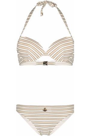 Emporio Armani Women Bikinis - Striped bikini set