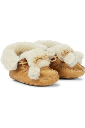 BONPOINT Baby shearling boots