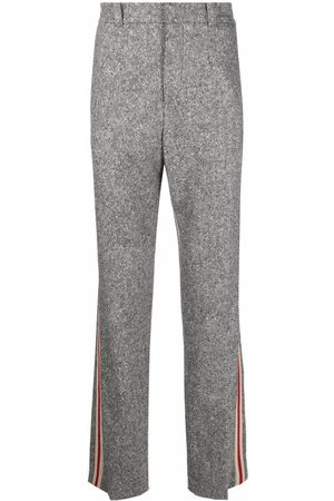 WALES BONNER Joggers - Side-tripe knitted track pants