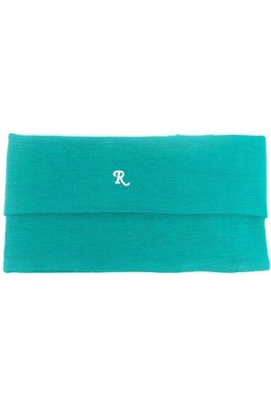 RAF SIMONS Men Turtlenecks - Logo-embroidered roll-neck scarf