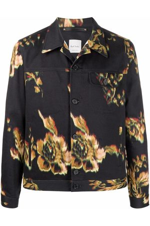 Paul Smith Floral-print lightweight jacket