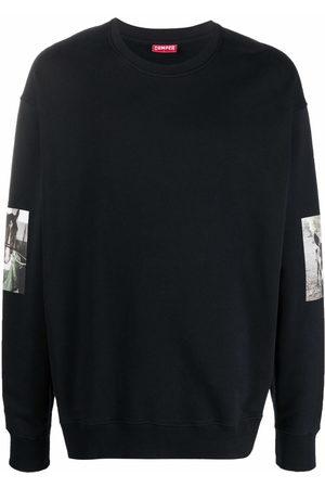 Camper Photograph-print sleeve sweatshirt