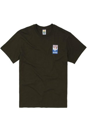 Hikerdelic Patch Logo T-Shirt Military