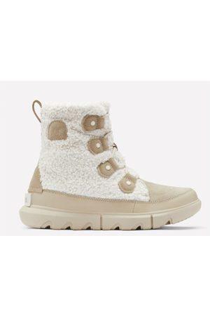 sorel Explorer ll Joan Cozy Cream Boots