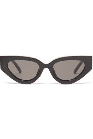 Le Specs Women Sunglasses - Aphrodite Cat-eye Acetate Sunglasses - Womens
