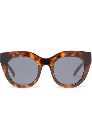 Le Specs Air Heart Oversized Cat-eye Acetate Sunglasses - Womens