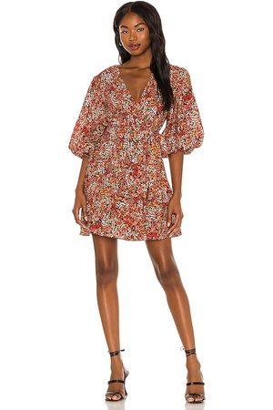 Minkpink Women Party Dresses - Gabae Wrap Mini Dress in .
