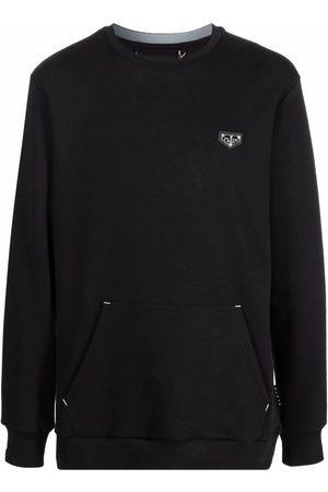 Philipp Plein Logo-plaque crew neck sweatshirt