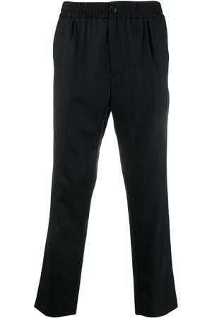 Ami Men Pants - Cropped pull-on trousers