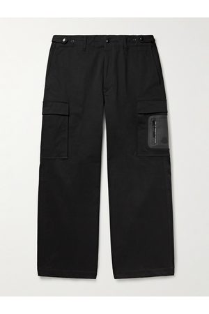 Moncler Cotton-Blend Twill Cargo Trousers