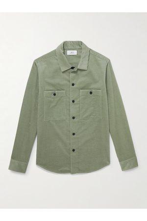 Mr P. Men Shirts - Cotton and Cashmere-Blend Corduroy Overshirt