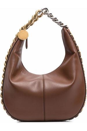 Stella McCartney Chunky-chain detail tote bag