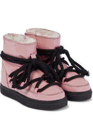 INUIKII Kids Girls Wellingtons - Rain Sneaker patent leather boots