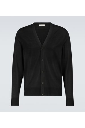 The Row Men Cardigans - Crispin wool and silk cardigan