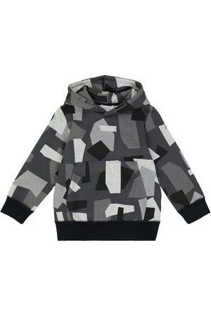 Stella McCartney Boys Hoodies - Camouflage cotton-blend hoodie