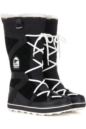 sorel Glacy Explorer suede boots