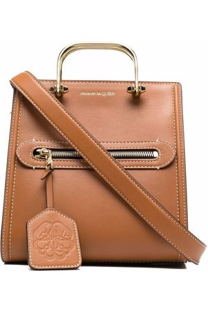 Alexander McQueen Women Tote Bags - The Short Story leather tote bag
