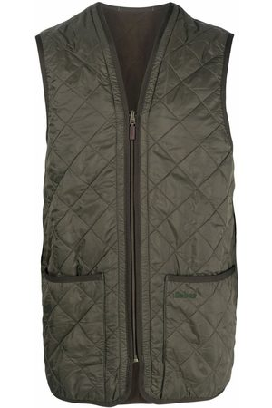 Barbour Men Gilets - Quilted pouch-pocket gilet