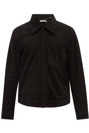 OUR LEGACY Reincarnation Suede Overshirt - Mens