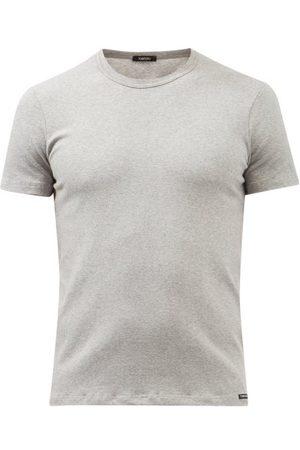 Tom Ford Men Pyjamas - Logo-label Cotton-blend Jersey Pyjama Top - Mens