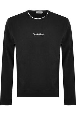 Calvin Klein Men Sweatshirts - Logo Crew Neck Sweatshirt