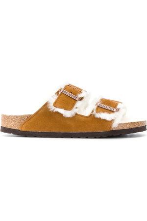 Birkenstock Women Sandals - Shearling sandals