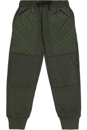 Burberry Boys Joggers - Cotton jersey sweatpants