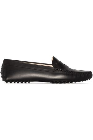 Tod's Women Loafers - TODS MOCCASIN LFR RTOE RDGD SLE LTHR