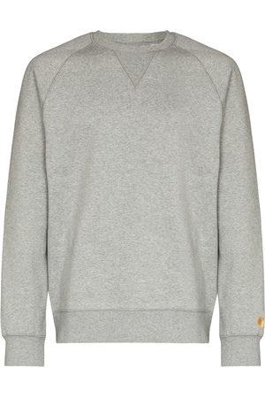 Carhartt WIP Men Sweatshirts - Chase embroidered logo sweatshirt