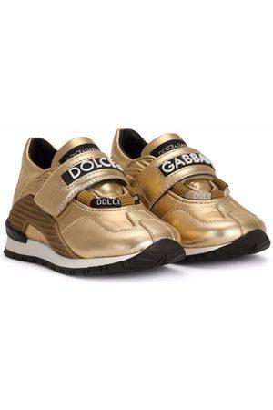 Dolce & Gabbana Logo-strap panelled sneakers