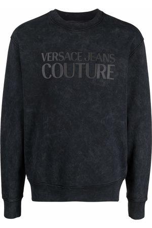 VERSACE Logo-print sweatshirt