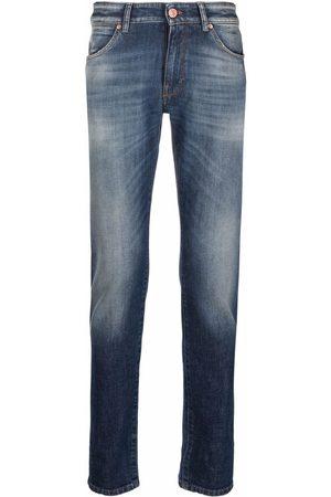 PT01 Washed skinny-fit jeans