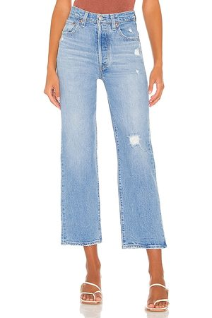 Levi's Women Straight - Ribcage Straight Ankle Jean in .