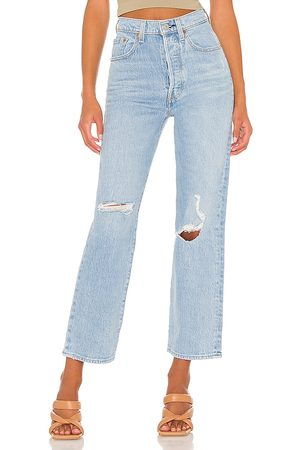 Levi's Women Straight - X REVOLVE Ribcage Straight Ankle in .