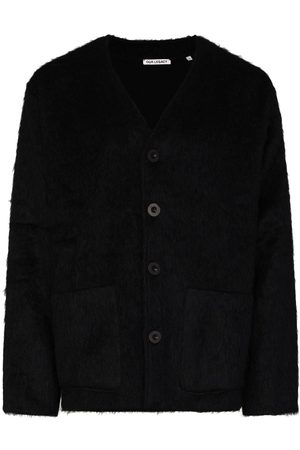 OUR LEGACY Faux-fur button-up cardigan